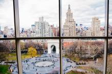 View from Kimmel Center, NYU.