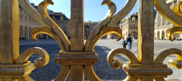 Detail of a gate in Versailles