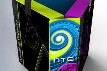 HTC Triangular Sales kit concept.