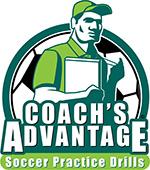 Coach's Advantage Soccer Practice Drills logo