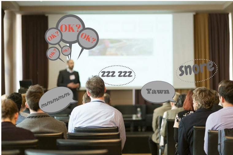 Data slide presentation mistakes
