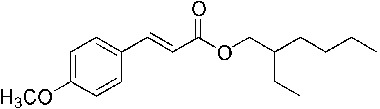 Octyl methoxycinnamate - a sunscreen agent