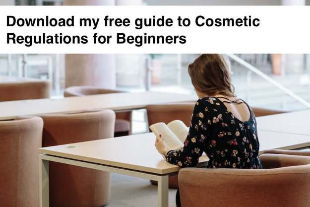 Free Guide To Cosmetics Regulations For Beginners