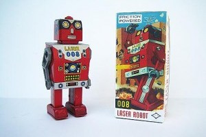 Robots vintage (Del baúl de juguetes a las manos de los coleccionistas)
