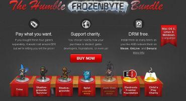 Compra videojuegos al precio que tú decidas, ayuda a una buena causa y a desarrolladores independientes.