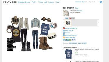 Crea outfits completos con tan sólo un par de clicks.