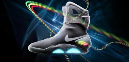 Nike MAG, los tenis de volver al futuro disponibles en subasta por ebay