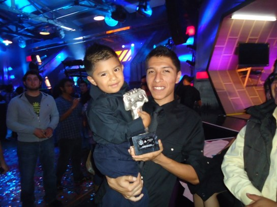 MTV Video Games Awards Mexico City Aaron Martínez
