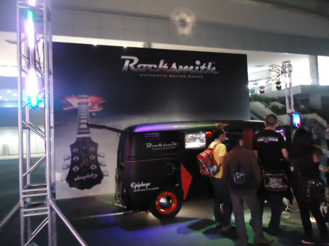 Rocksmith Van EGS 2011