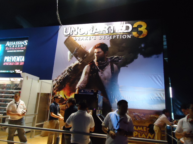 Sony Playstation 3 Uncharted 3 EGS 2011