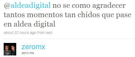 Aldea Digital Tweets