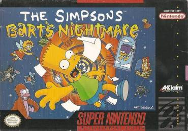 Viernes de Old Videogames: The Simpsons: Bart's Nightmare