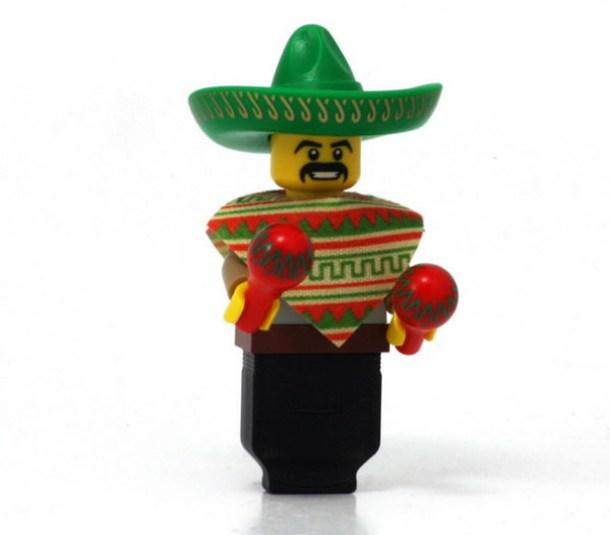 USB Lego en forma de mariachi
