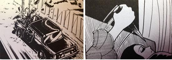 Mirror Horror Manga by Kazuo Umezu murder