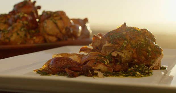 "A dish from chef Francis Mallmann in Netflix's ""Chef's Table.""  Photo courtesy of Netflix"