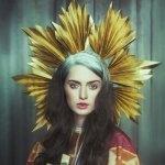 Los maravillosos sombreros de papel de la artista Lacy Barry