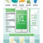 La App de MAPS.ME sobrepasa  14 millones de instalaciones; 7 millones de nuevos usuarios tras la adquisición de Mail.Ru
