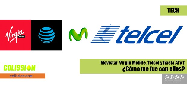 Comparativa Telcel, Virgin Mobile, AT&T y Movistar