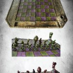 The Cosmic Horror Chess, un ajedrez en Kickstarter de otra galaxia
