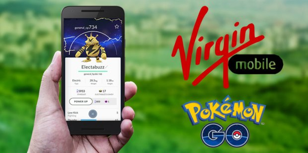 Pokemon Go Virgin Mobile