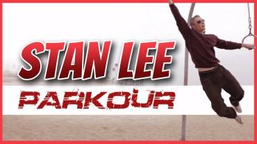 Stan Lee haciendo Parkour a sus 90 años