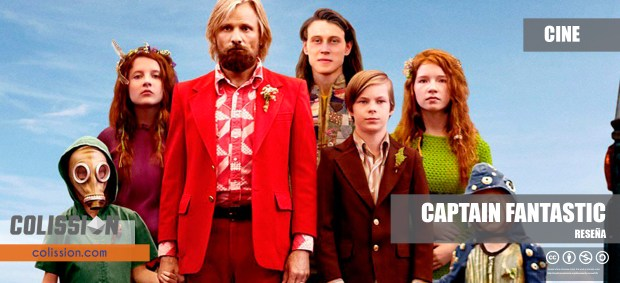 Reseña Captain Fantastic
