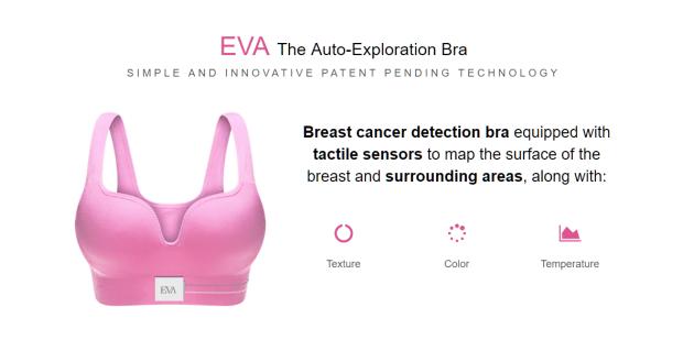 Eva Bra que detecta cancer de mama