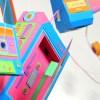 Gadgets Retro hechos de papel