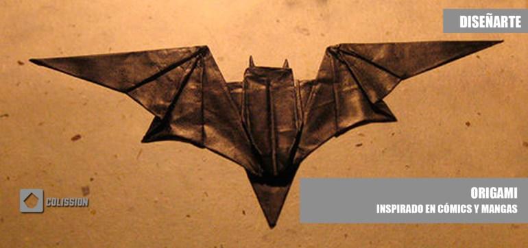 Increíble origami inspirado en cómics y mangas