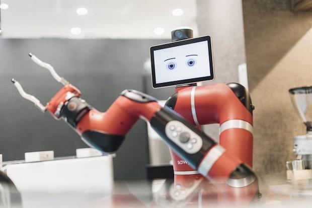 Un robot barista para servir tu café en Japón