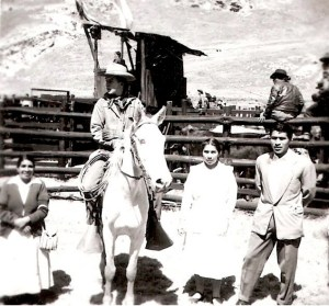 """The author, in August 1958, eleven years old, in Casaracra, a small mining town high in the Peruvian Andes mountains, where I first read """"My Early Life"""" — my introduction to Winston Churchill."""