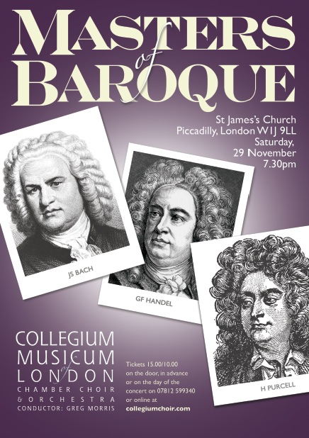 CML impresses with Baroque programme at St James's