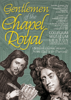 CML celebrates the genius of the Chapel Royal
