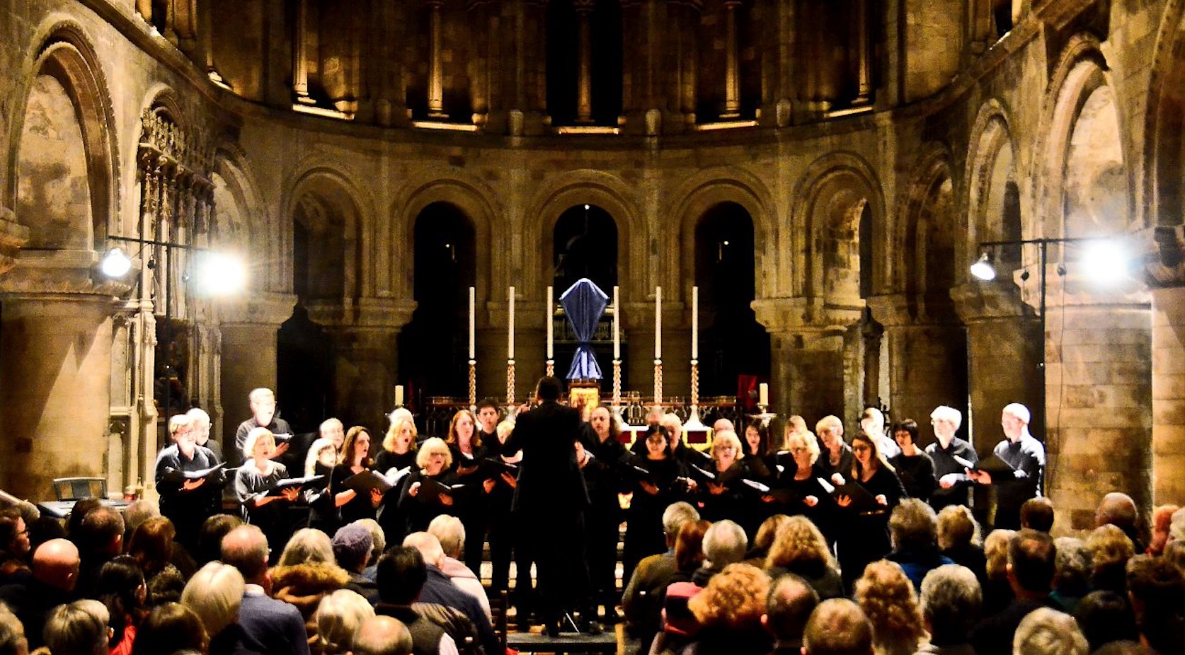 Armada! concert attracts large crowd to St Bart's, Smithfields
