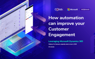 Webinar: How automation can improve customer engagement