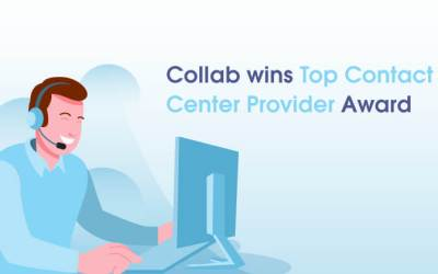 Collab wins Top Contact Center Provider Award