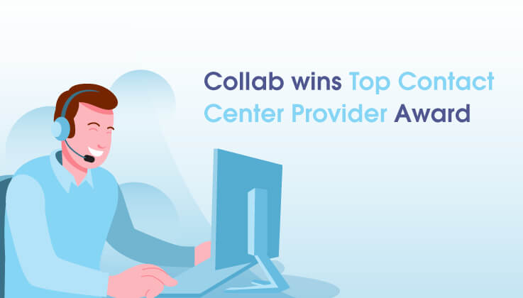 Collab gana el premio Top Contact Center Provider