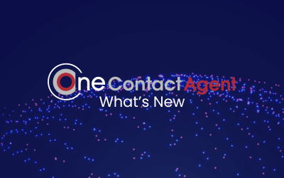 What's new in OneContact Agent?