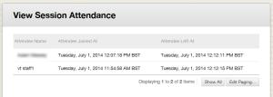 attendance_list