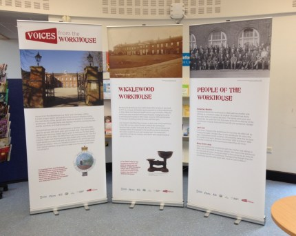 Wicklewood Heritage Group researched their local workhouse and created a temporary exhibition.
