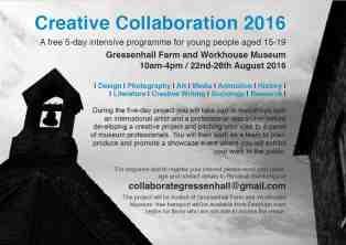 Creative Collaboration - get invovled!