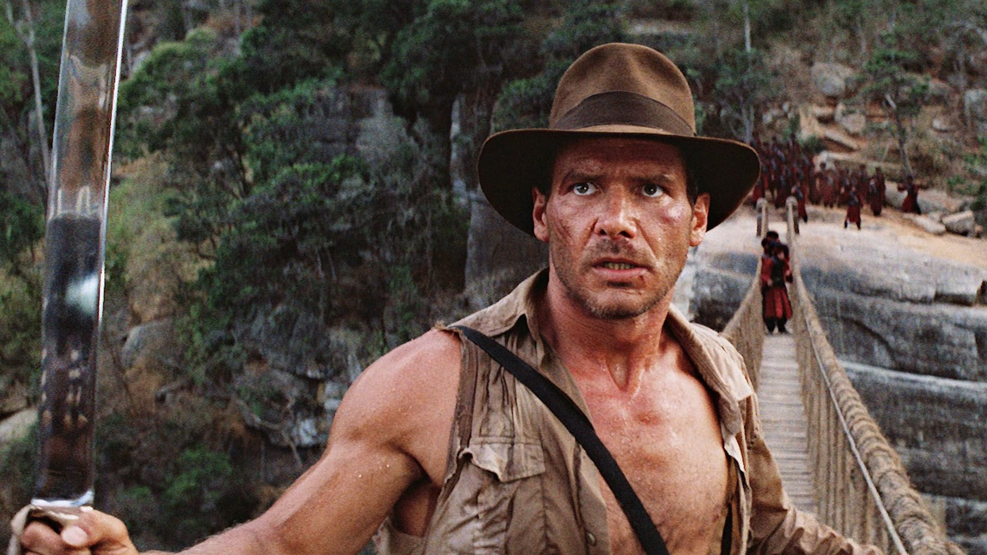Indiana Jones Harrison Ford {color} Dollar Bill REAL Money!
