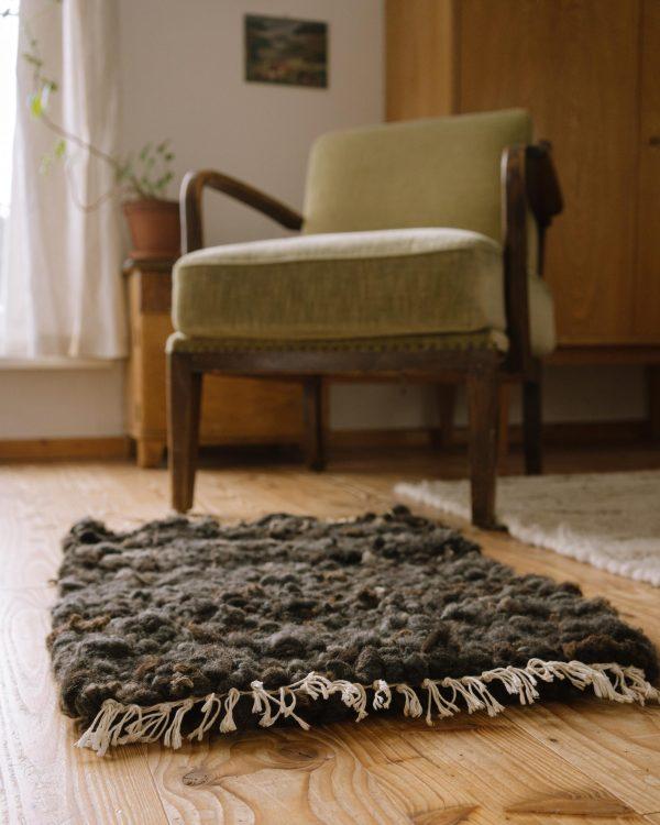Schurwoll teppich
