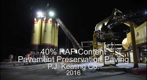 P.J. KeatingCo 40% RAP Content
