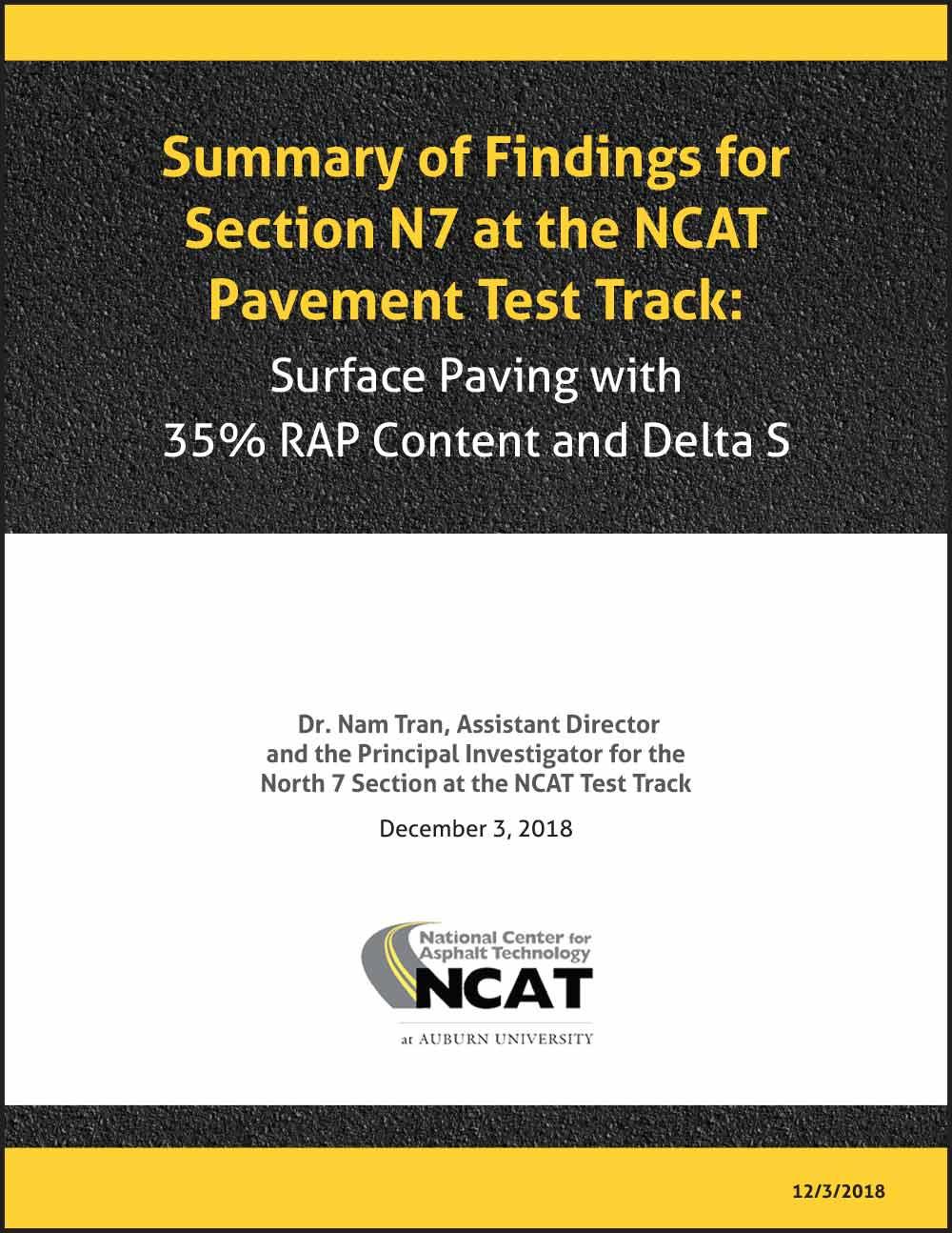 Summary NCAT N7 Delta S
