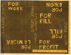 Robert Cooney, Por Exxon, For Kill 1978