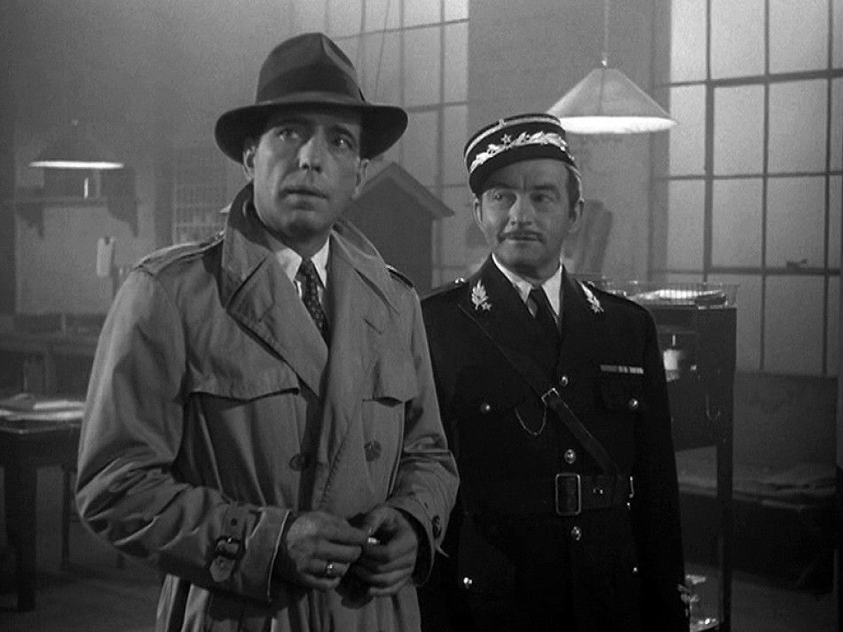 Rick and Captain Louis. A bromance made in Casablanca.