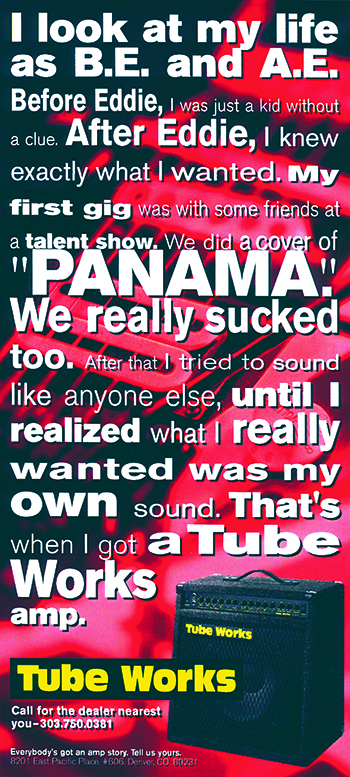 TubeWorks My Own Tone ad campaign / Panama