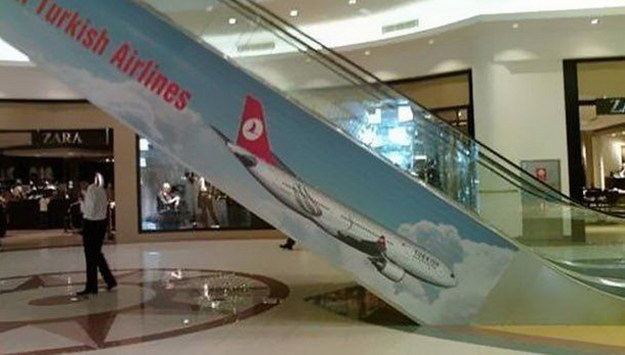 Turkish Airlines banner fail