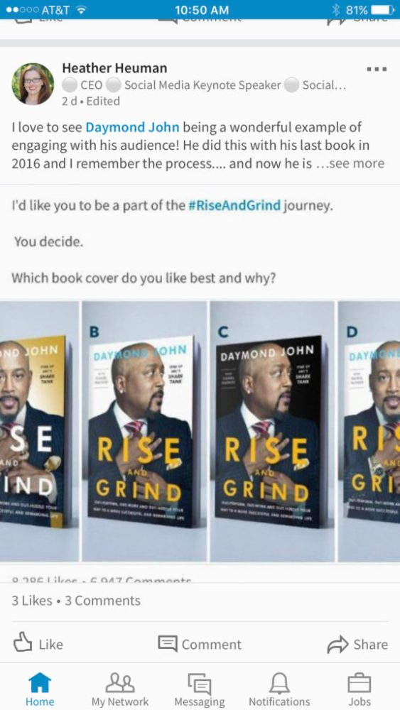 Daymond Johns Rise And Grind Book Cover Voting